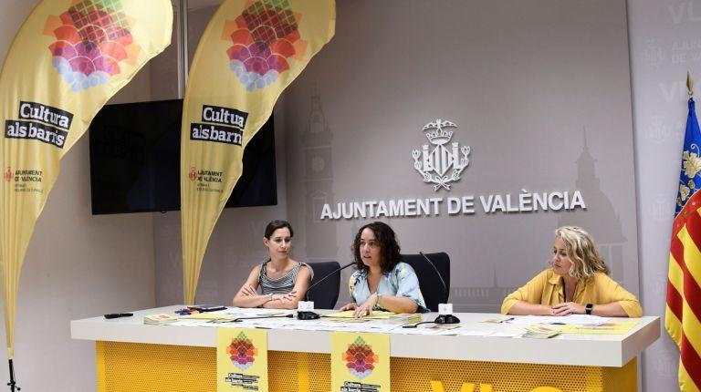 Cultura als Barris descentraliza las actividades culturales de Valencia y las distribuye por toda la ciudad