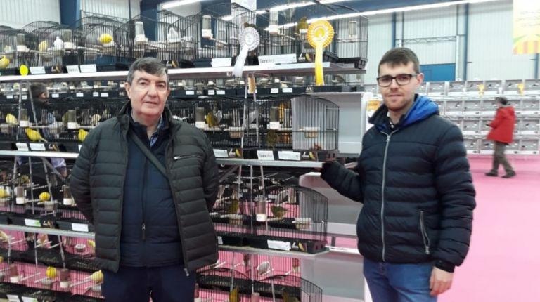 Ornitólogos deCallosa d'en Sarrià han logrado 11 medallas en el Campeonato Mundial de Ornitología