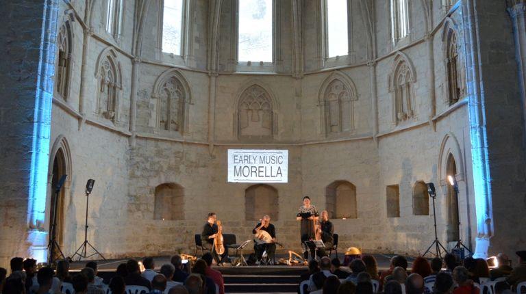 El disco Quattrocento, grabado parcialmente en Morella, gana el Premio Internacional de Música Clásica