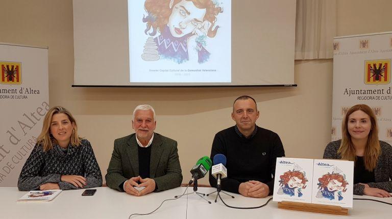 """Altea presenta su candidatura a Capital Cultural Valenciana con el proyecto """"Altea mar de cultures"""""""