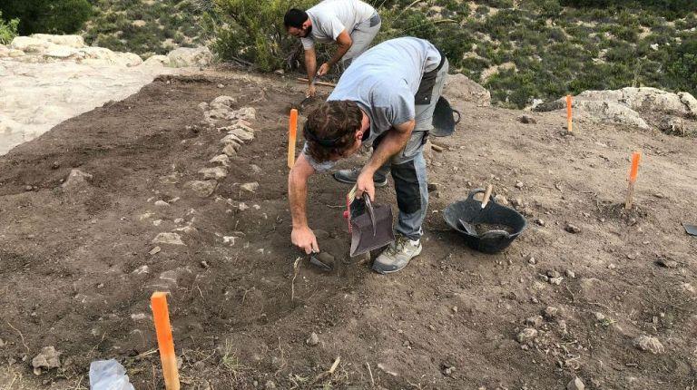Las excavaciones arqueológicas la Font de la Figuera se preparar para recibir visitas