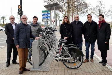 Alboraya y Valencia cada vez más conectadas en bicicleta