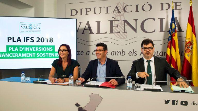 266 municipios valencianos recibirán ayudas para mejorar sus espacios y servicios públicos