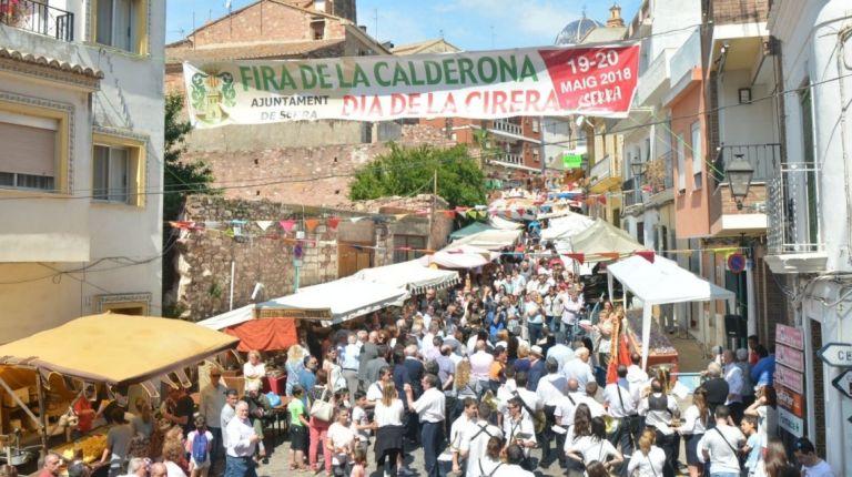 Serra celebra este fin de semana el XLIX Día de la Cereza y la XV Feria de la Calderona