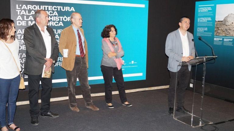 La milenaria arquitectura talayótica de Menorca llega al Museu de Prehistòria