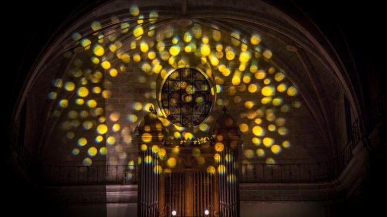 Espectáculo de arte, música y luz en Vinaroz