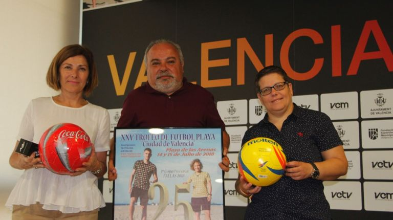 La Playa de las Arenas acoge el XXV Trofeo Ciudad de Valencia de Fútbol con interesantes novedades