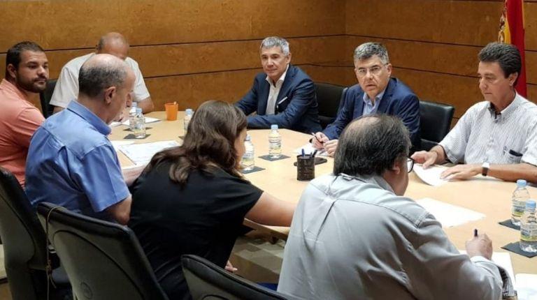 El delegado del Gobierno se reúne con el  alcalde de Manises