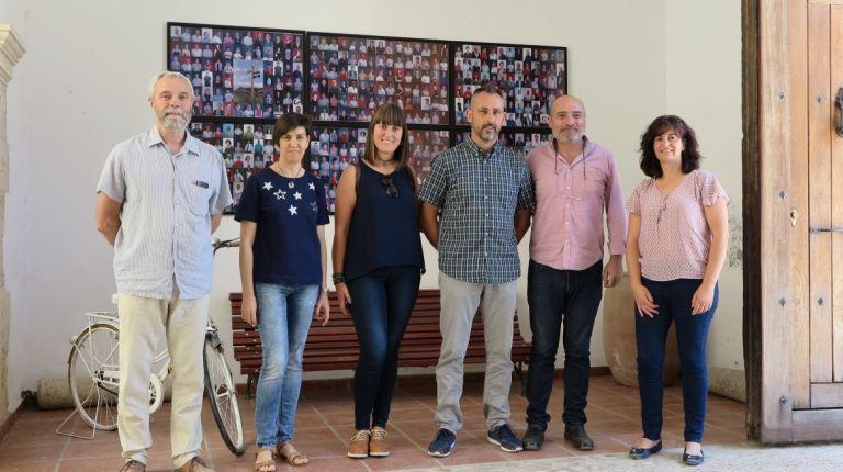 Xavier Rius visita la Vall d'Albaida para estudiar vías de dinamización de los proyectos culturales municipales