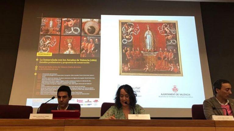 Valencia restaurará 'La Immaculada dels jurats de València', del pintor Jerónimo Jacinto de Espinosa