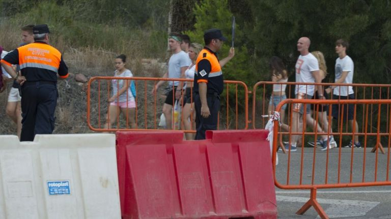 La Diputación de Castellón envía 44 efectivos de bomberos al Arenal Sound