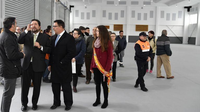 Se inaugura en La Llosa un edificio para el desarrollo cultural y social del municipio