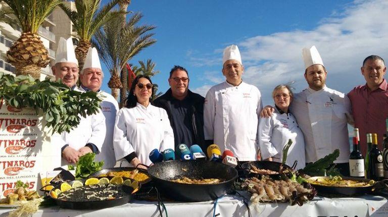 Las Jornadas de Cocina de la Galera en Vinaros aprovechan el mejor momento de este rico crustáceo