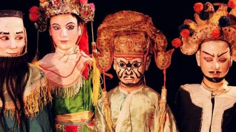 El Museo Internacional de Marionetas de Albaida dedica el Día Mundial a los Títeres de la Isla de Java