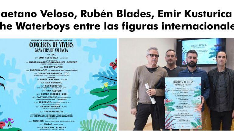 LOS CONCERTS DE VIVERS APUESTAN POR UN AUMENTO DE LAS BANDAS Y ARTISTAS INTERNACIONALES
