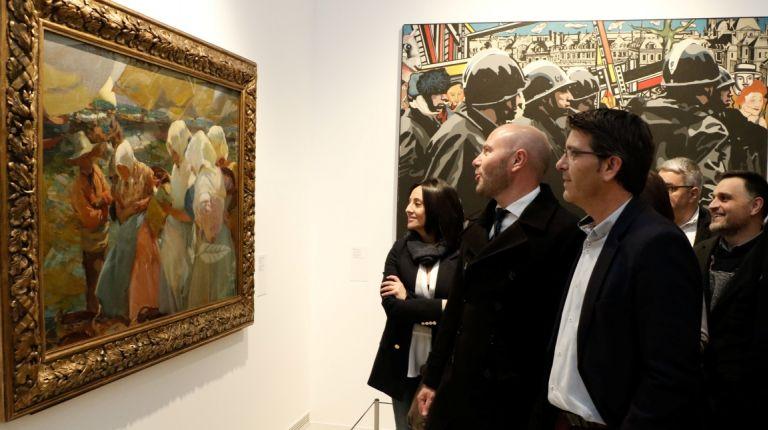 """La exposición itinerante """"Memoria de la Modernidad"""", ahora en Onteniente, ofrece una charla sobre la obra de Ribalta"""