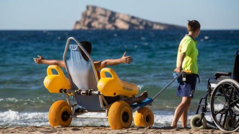 Benidorm aspira a ser nombrada Destino Turístico Accesible por votación abierta