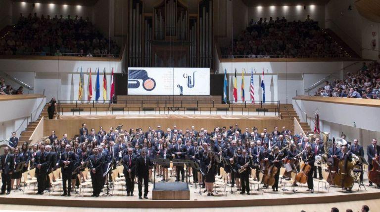 Comienza la 132 edición del Certamen Internacional de Bandas de Música