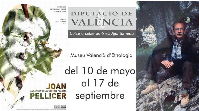 El Museu Valencià d'Etnologia presenta la exposición Joan Pellicer, la saviesa de les nostres plantes