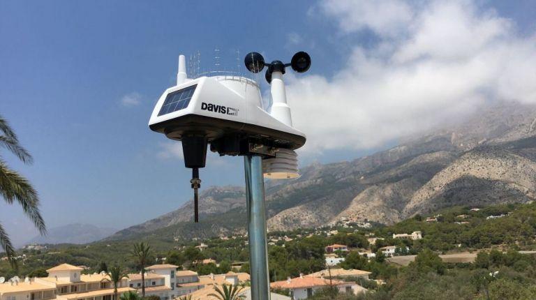 Seguridad Ciudadana de Altea anuncia la adquisición de 2 estaciones meteorológicas para el municipio