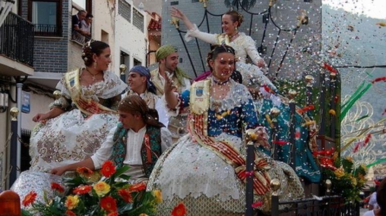 Fiestas patronales de la Virgen de la Paciencia en Oropesa del Mar