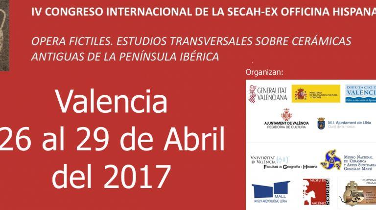 La Sociedad de Estudios de la Cerámica Antigua en Hispania inaugura su IV Congreso en la Beneficència