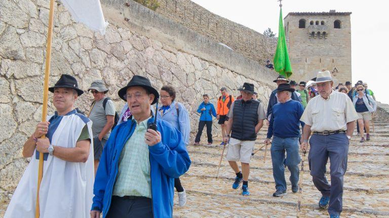 Morella se prepara para la Rogativa de bajada de la Virgende Vallivana hasta el santuario