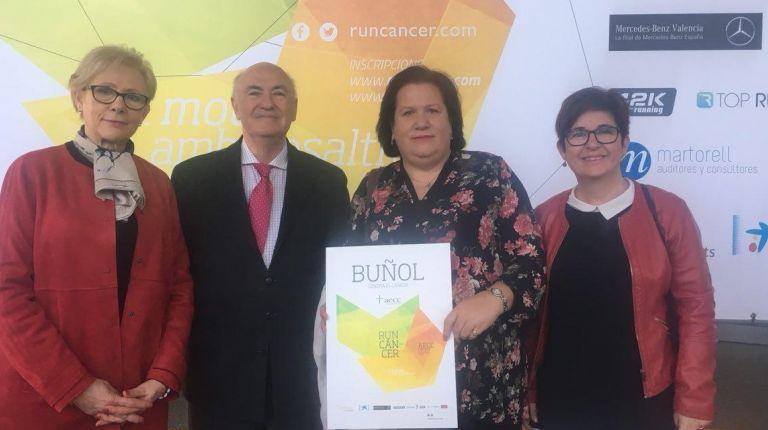 Buñol volverá a celebrar su marcha solidaria Run Cáncer el próximo 14 de abril