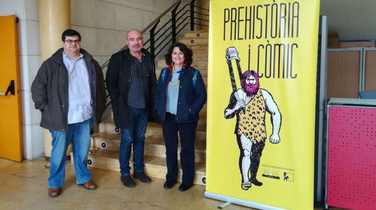 """La exposición """"Prehistòria i Còmic"""" se exhibe en Sagunto hasta el 18 de marzo"""